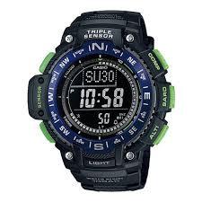 Наручные <b>часы CASIO SGW</b>-<b>1000</b>-<b>2B</b> Pro-Trek — купить в ...