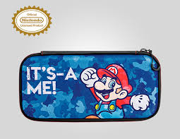 <b>Дорожный чехол Nintendo Switch</b> Slim Mario Camo