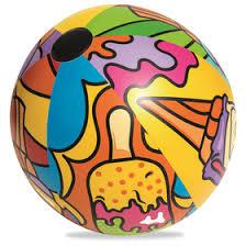 <b>Мяч надувной</b> «Поп-арт», от 3 лет, d=91 см, 31044 <b>Bestway</b> ...