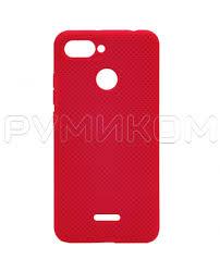 <b>Пластиковый бампер New Color</b> для Xiaomi Redmi 6 (малиновый ...