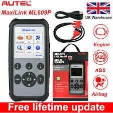 <b>Autel ML609P</b> OBD2 Fault Code Reader Diagnostic Scanner Tool ...
