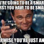 Leonardo Dicaprio Cheers Blank Meme Template - Imgflip via Relatably.com