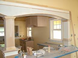 country kitchen column spout: thinking about adding an island to my kitchen but because of the removal of a load bearing wall i will have to have support columns
