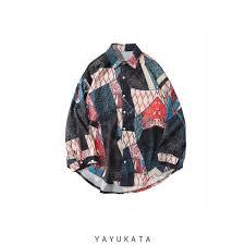 YAYUKATA HY5 <b>Long Sleeve</b> Shirt | <b>Japanese</b> Street <b>Fashion</b> at ...