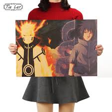 <b>TIE LER Naruto A</b> Style Classic Japanese Cartoon Comic Kraft ...