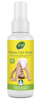 Pure Nappy Care <b>Spray</b> 100mls - Protect Soothe Sensitive Skin ...