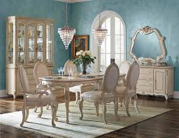Cottage Dining Room Table Lavelle Cottage Blanc Dining By Aico