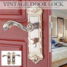 <b>1 Set European Style Vintage</b> Door Lock Retro Bedroom Door ...