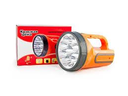 <b>Фонарь аккумуляторный</b> Красная цена 9 LED 2 режима (<b>5</b>/9 LED ...