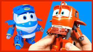 РОБОТЫ-ПОЕЗДА из мультика. Игрушки. RobotTrains. 로봇트레인 ...