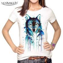 Buy <b>t</b> shirt <b>wolf</b> woman and get free shipping on AliExpress.com