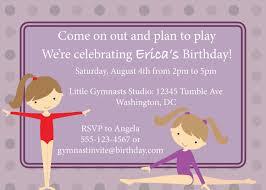 printable birthday party invitations gymnastics gymnastics printable birthday party invitations gymnastics