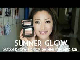 Summer Glow: <b>Bobbi Brown Shimmer Brick</b> in Bronze - YouTube