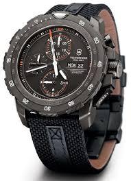 <b>Victorinox Swiss Army</b> Alpnach Black Ice Chronograph Watch Watch ...