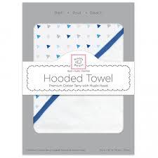 Муслиновое <b>полотенце с капюшоном SwaddleDesigns</b> Hooded ...