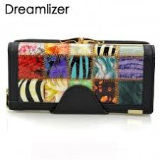 <b>Dreamlizer</b> 3 Fold Fashion <b>Genuine Leather</b> Women Wallets ...