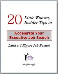 c level executive job search — resume  biography  personal      insider tips to accelerate executive job search