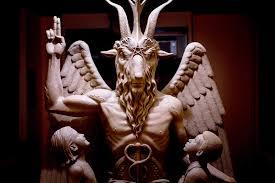 <b>Satanic</b> Temple Sues Over <b>Goat</b>-Headed Statue in 'Sabrina' Series ...
