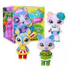 <b>Фигурка</b>-<b>сюрприз SOS Pets</b> Милые зверята. Оригинал Rainbow ...
