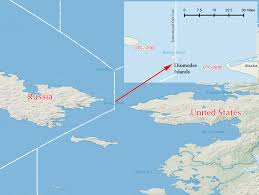 Geography     Archives   Geolounge Geolounge The Diomedes Islands mark the closest point between Russia and the United States