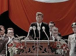 American Rhetoric  John F  Kennedy   Ich bin ein Berliner  I am a