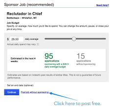 indeed job posting how to drastically improve candidate quanity how to post to indeed step 6