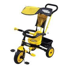 Детский <b>велосипед</b> Navigator Т55911 <b>Lexus 3</b>-<b>х колесный</b>, желтый