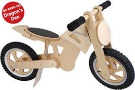 As <b>seen on</b> Dragon's Den, this eco Kiddimoto Wooden Balance Bike ...