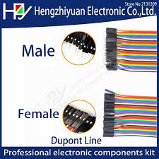 dupont line 10cm 20cm male to female jumper wire connector cable for arduino diy kit