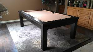 pool table dining tables:  moderna pool table espresso finish felt camel dining pool table