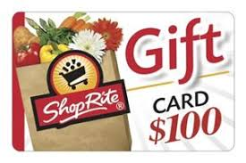 ShopRite $100 Gift Card - Redeemable in stores or at ShopRite from ...
