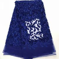 <b>Royal Blue</b> Velvet Fabric UK