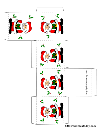 printable christmas boxes printable christmas box