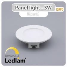 led panel light 6w 12w 18w round square glass recessed kitchen bathroom ceiling lamp ac85 265v downlight 3 color