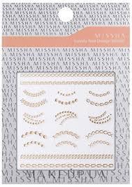 Missha <b>Lovely Nail</b> Design Sticker - <b>Наклейки</b> для маникюра ...