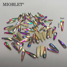 Detail Feedback Questions about <b>10pc Crystal AB 3D</b> Nail Art ...