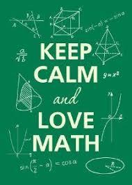 <b>Keep Calm and Love</b> Math | Love math, Math quotes, Math memes