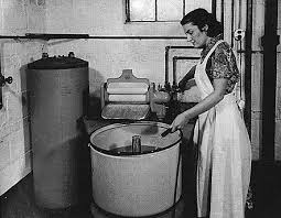 Image result for washing clothes the old fashioned way