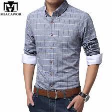 Plus <b>Size</b> Shirts <b>New Casual</b> Men Shirt <b>Cotton</b> Linen Mens Dress ...