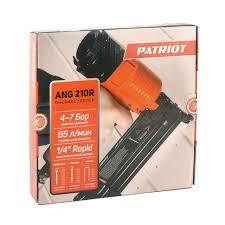 Интернет-магазин Пневмостеплер 3 в 1 <b>PATRIOT ANG</b> 210R ...