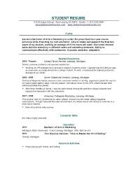 student resume templates student resume template easyjob xnzzvt9t resume template for students