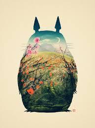 <b>Tonari no Totoro</b> Art Print by Victor Vercesi   My Style   Totoro, Hayao ...