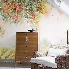 room elegant wallpaper bedroom: free shipping elegant photo wallpaper rose flower wall murals d custom wallpaper kids bedroom living room girls room decor interior design art watercolor