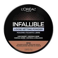 L'Oréal Paris Infallible <b>Tinted Loose</b> Powder, No Flashback ...