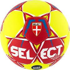 <b>Мяч гандбольный Select</b> Match Soft Ihf, красный, желтый, размер 2