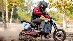 Indian's new eFTR Jr <b>electric</b> mini-<b>motorcycle</b> is designed for <b>kids</b> ...