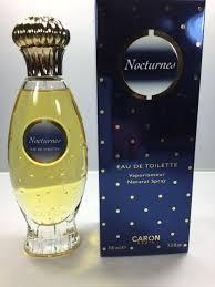 <b>Caron Nocturnes</b> Eau <b>de</b> toilette 100ml. Rare, vintage 1990s ...