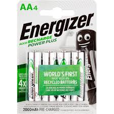 <b>Аккумулятор ENERGIZER Power Plus</b> АА/NH15 2000mAh бл/4шт