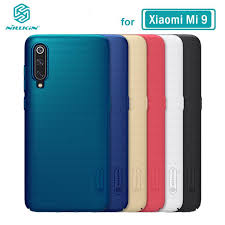 XiaoMi Mi 9 Case Cover <b>Nillkin Frosted Shield</b> PC Hard Back ...