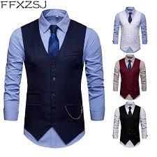 <b>FFXZSJ Brand 2019</b> Europe men's accessories chain with suit vest ...